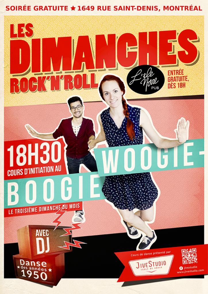 Boogie-Woogie au Pub l'Île Noire