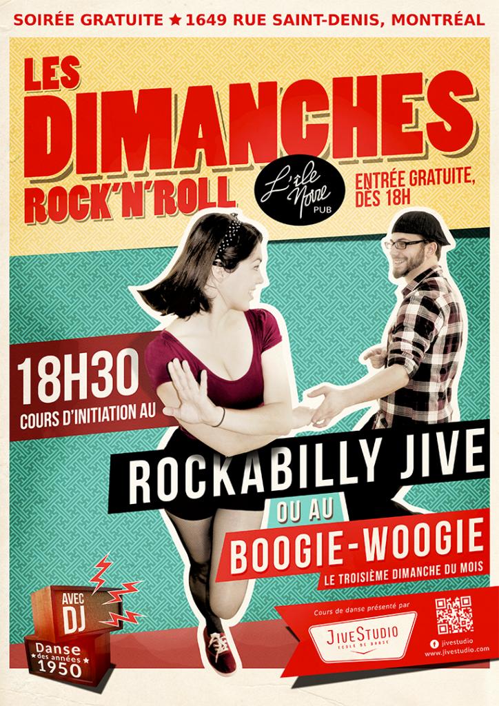 Rockabilly Jive au Pub l'île Noire