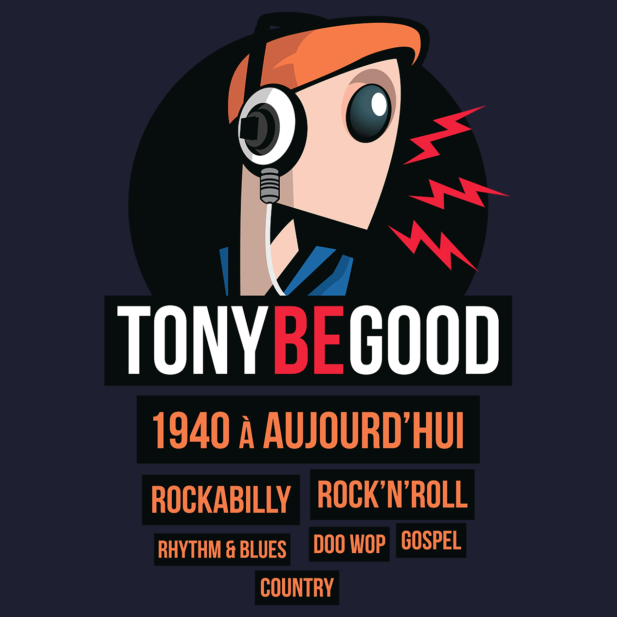 Logo - Visuel Tony Be Good